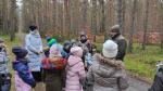 Spacer w lesie ścieżką edukacyjną