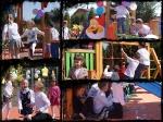 Radosna szkoła - otwarcie placu zabaw
