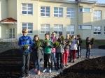 Nasza praca przy sadzeniu roślin