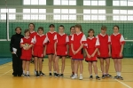 Mistrzostwa Powiatu Bydgoskiego w Mini Pilce Siatkowej dziewcząt w Koronowie