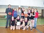Łochowo mistrzostwa powiatu w mini piłce koszykowej - marzec 2008