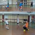 Szkolny Turniej Piłki Siatkowej klas I gimnazjum_1