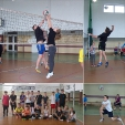 Szkolny Turniej Piłki Siatkowej klas I gimnazjum