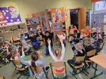 Wolontariusze EuroWeek w naszej szkole