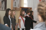 Ślubowanie klas I gimnazjum 2011