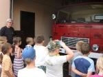 Odwiedziny u strażaków