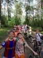 Rajd rowerowy po lesie 2a